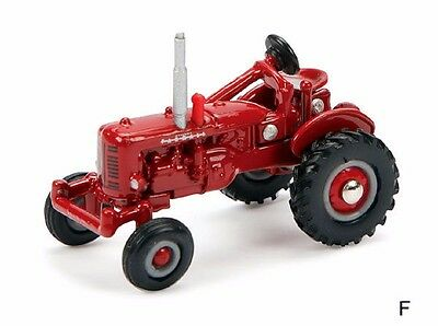 Farmall Vintage Wide Front Tractor Diecast Scale 1/64 New #46232