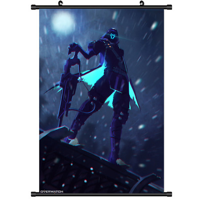 """Hot Movie Anime Street Fighter Cammy Home Decor Poster Wall Scroll 8/""""x12/"""" FL900"""