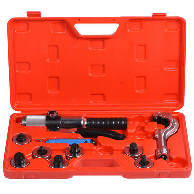CT-300 Hydraulic Tube Expander 7 Lever Tubing Expanding Tool Swaging Kit