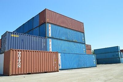 40' (FOOT/FT) HIGH Cube Steel Cargo Intermodal Shipping