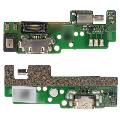 For Sony Xperia E5 F3311 USB Charging Port + Microphone Mic Vibrator Board F3313