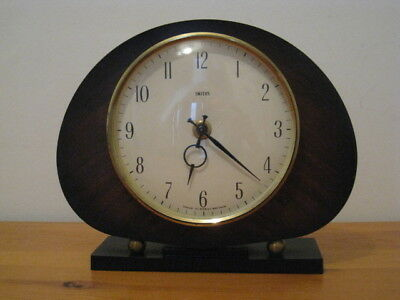 Smiths Retro Mantle Clock Circa 1960s Made in Great Britain Good working order!