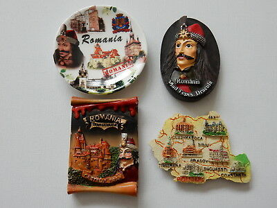 One Selected Souvenir Fridge Magnet from Romania