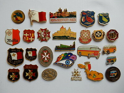 One Selected Metal Souvenir Fridge Magnet from Malta