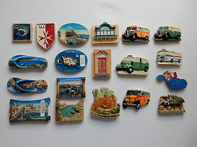 One Selected 3D Souvenir Fridge Magnet from Malta and Gozo