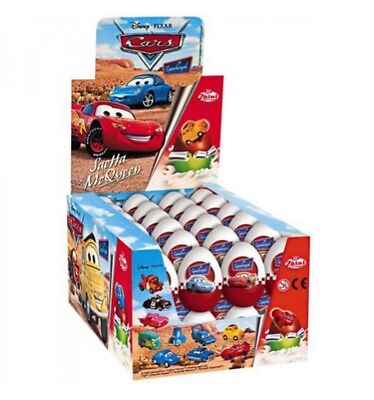 Funtastic Cars Egg Surprise 20gm x 24