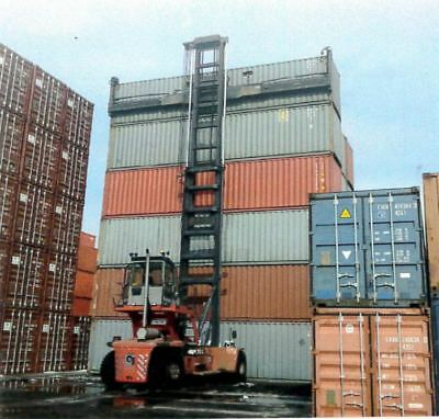 40' (foot/ft) Standard Steel Cargo Intermodal Shipping Container Indianapolis
