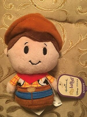 HALLMARK Itty Bitty Bittys Woody Toy Story Retired New Tags  Hard to Find