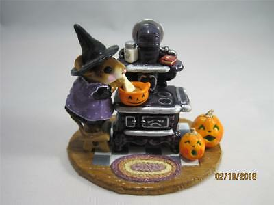 Wee Forest Folk The Old Black Stove - Limited Edition Halloween 2003 - WFF Box