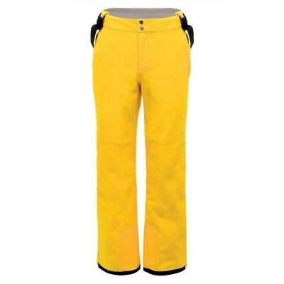 Mens Dare2b Certify Technical Trouser Ski Pants Salopettes GOLDEN LEMON SIZE S