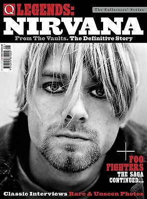 Q Legends - Nirvana: From The Vaults: The Definitive Story + Foo Fighters Mag.