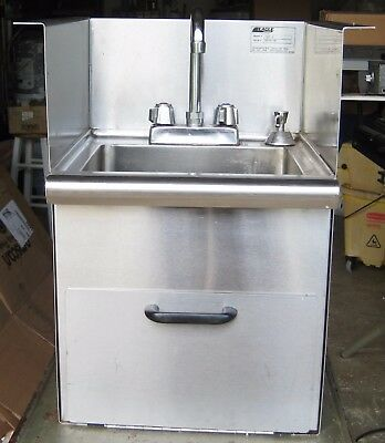 Eagle Hwb-E Ss Drop In Hand Sink W/ Faucet / Soap / Towel Dispenser Etc Nsf