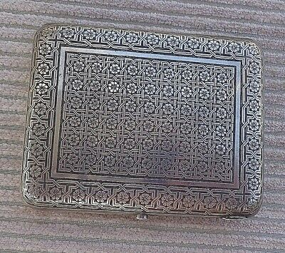 Antique Armenian Silver Cigarette Case