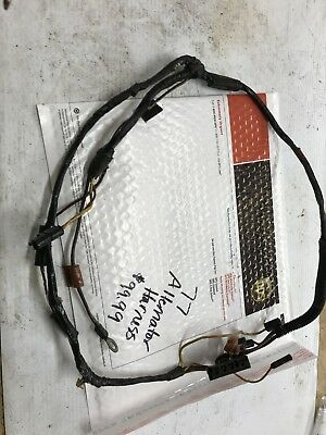 1977 77 ford truck alternator harness