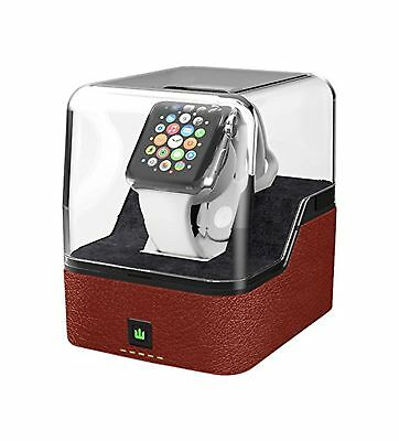 Trident Odyssey Valet for Apple Watch - Luxury Charging Pedestal for Apple Wa...