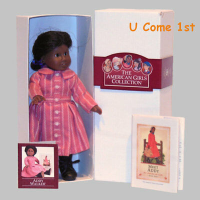 Mini Addy Doll~Glass Eyes! Pleasant Company~American Girl! Complete! Hard 2 Find