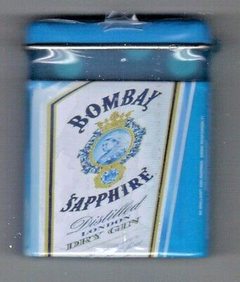 Vintage 2007 BOMBAY SAPPHIRE GIN - PROMO MINTS TIN Full NOS Shrink wrapped