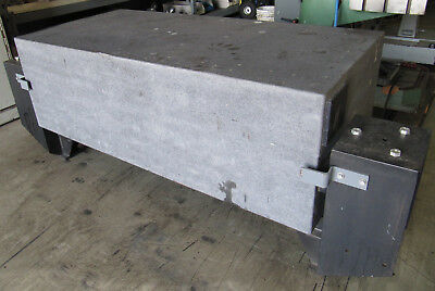 "62"" x 30"" Granite Surface Plate / Inspection Table 20""Thick / 30""high w/ Stand"