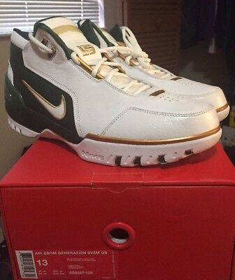 2176c2bceb99 Nike Air Zoom Generation Lebron James SVSM AO2367-100 Size 13 DS