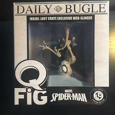 Marvel's Spider-Man Q-Fig FigureQmx Loot Crate June 2017 Exclusive New In Box