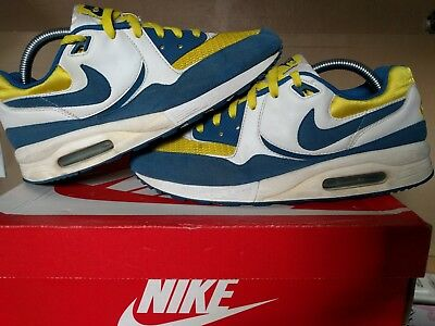 separation shoes 82975 500ea Nike Air Max Light size 8.5 RETRO VINTAGE. Blue Yellow Colorway SUPREME  ATMOS