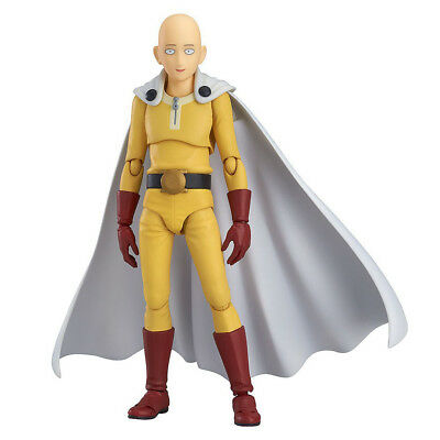 "SAITAMA One Punch Man 6"" Interchangeable Action Figure (Caped Baldy Figurine)"