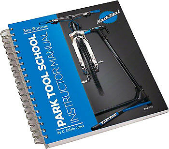 Park Tool BBB-3TG Big Blue Book of Bicycle Repair Instructor Manual 3rd Edition