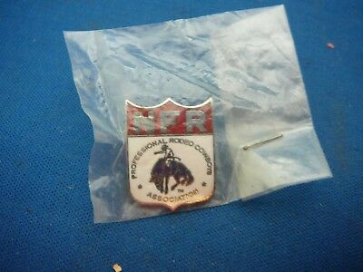 1960s NFR Professional Rodeo Cowboys Screwback Pin