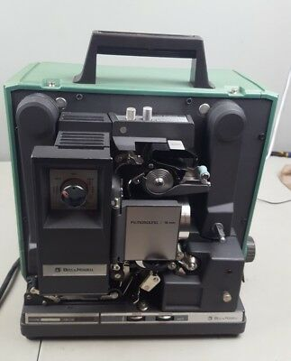 Vintage BELL & HOWELL 16mm Movie PROJECTOR FILMOSOUND Model 1585 for parts