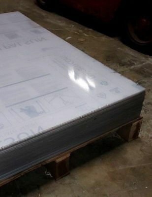 Clear Polycarbonate Sheet 24 x 48 x 1/4 Lexan Makrolon