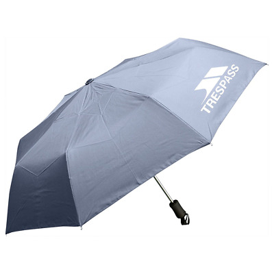 Trespass Repel, Granite, ONE SIZE, Automatic Umbrella with Sleeve, One Size,