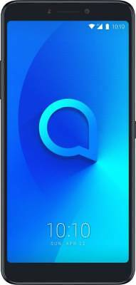 "New Alcatel 3V (Black, 32GB) 3GB RAM (4G) 6"" 16MP+5MP Dual Rear Camera SHIP DHL"