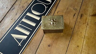 Antique arts and crafts vintage box