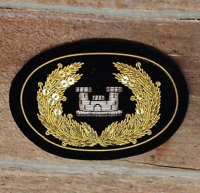 American Civil War Officers 54th Regiment Small Hat Insignia US ACWS