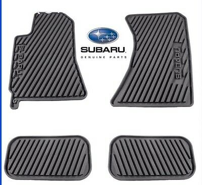 Oem 2005 2009 Subaru Outback All Weather Floor Mats Black