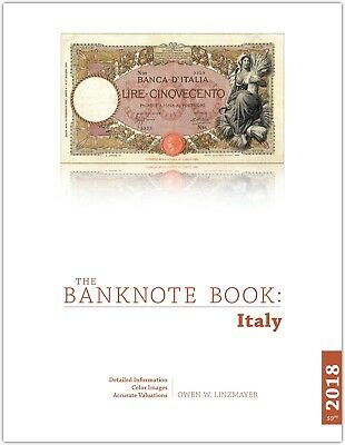 Italy chapter from new catalog of world notes, The Banknote Book