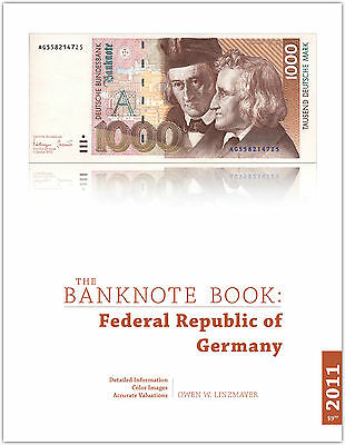 Germany Fed Rep chapter from new catalog of world notes, The Banknote Book