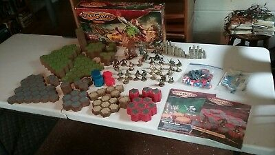 Heroscape: Master Set: Rise of the Valkyrie & Volcarren Wasteland expansion set