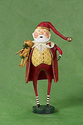 Lori Mitchell™ - Christmas Cheer Santa -  Holiday Noel Figurine - 23449