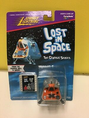 Johnny Lightning Lost In Space:Space Pod Figure Clip #32 Sizzlers! (1998)