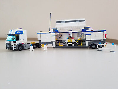 Lego City 7743 Police Command Center Used Instructions No Box