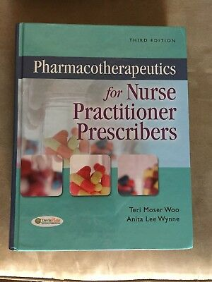 Excellent... Pharmacotherapeutics For Nurse Practitioner Prescribers 3rd ed -Woo