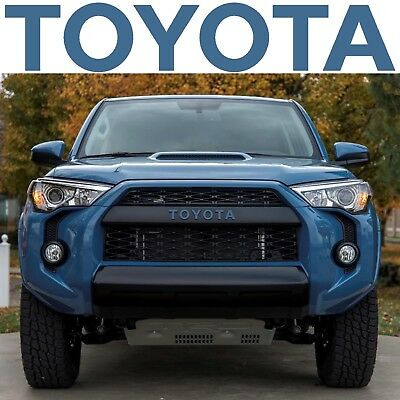 Cavalry Blue TRD PRO Grill Vinyl Decals For 2015-2018 Toyota 4Runner New USA