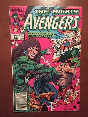 The Avengers #241 (1984) 7.0 FN Marvel Comics Key Issue Newsstand Edition