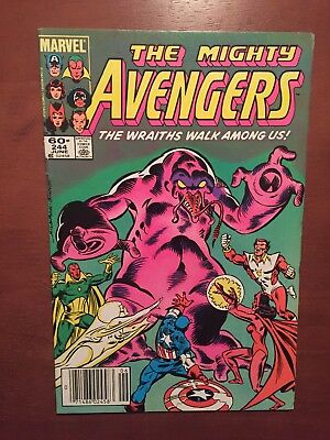 The Avengers #244 (1984) 8.0 VF Marvel Comics High Grade Newsstand Edition Issue
