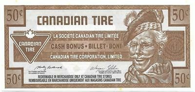 CANADIAN TIRE 2006 - 50 Cent Coupon (S28-E06); Mint - FREE SHIPPING Canada & USA