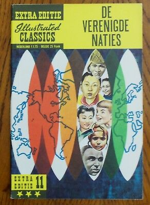 Classics Illustrated - #nn The United Nations - Netherlands - Scarce