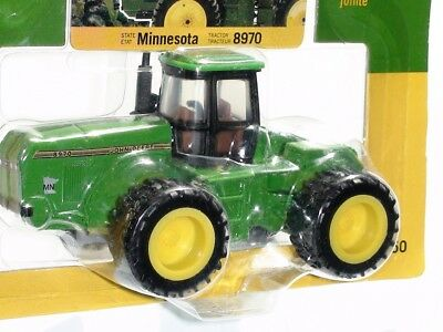 John Deere 8970 Tractor State Series With Dual Wheels Diecast Scale 1/64 Used