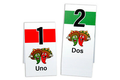 Plastic Table Numbers 1-50 Tent Style, Chili Pepper Numbers, Free shipping