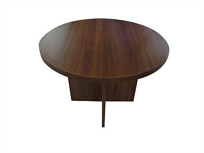 NEW WALNUT 1200mm Round Meeting Table 40mm Top